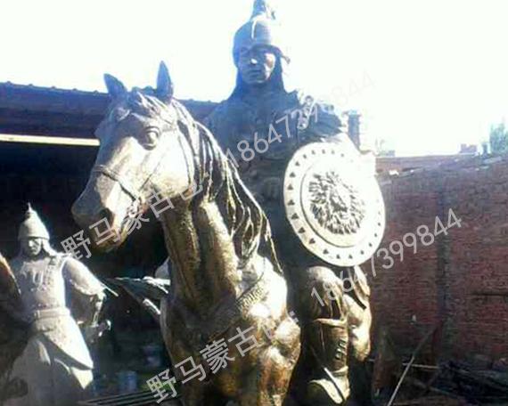 内蒙古地区现代雕塑