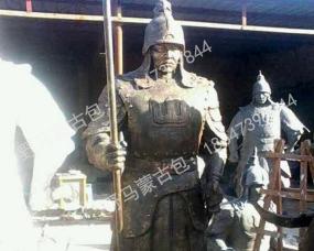 呼市蒙古雕塑