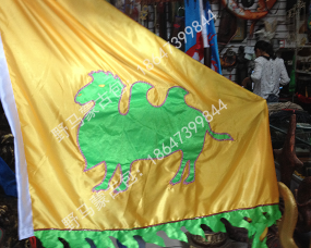 特色蒙古旗帜